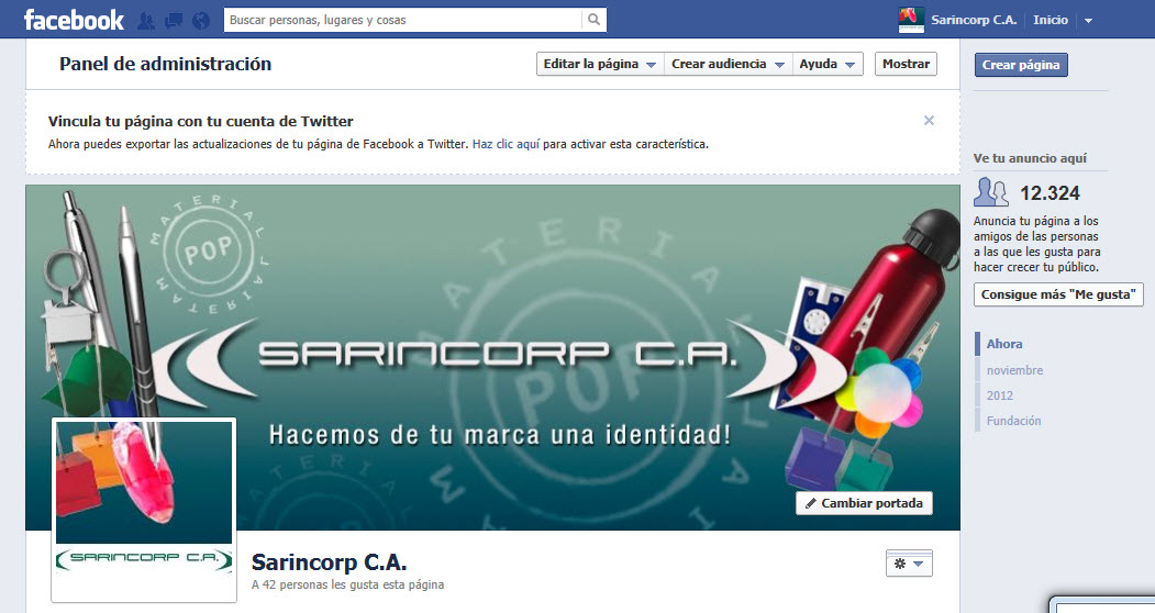 Ya estamos en Facebook!!!